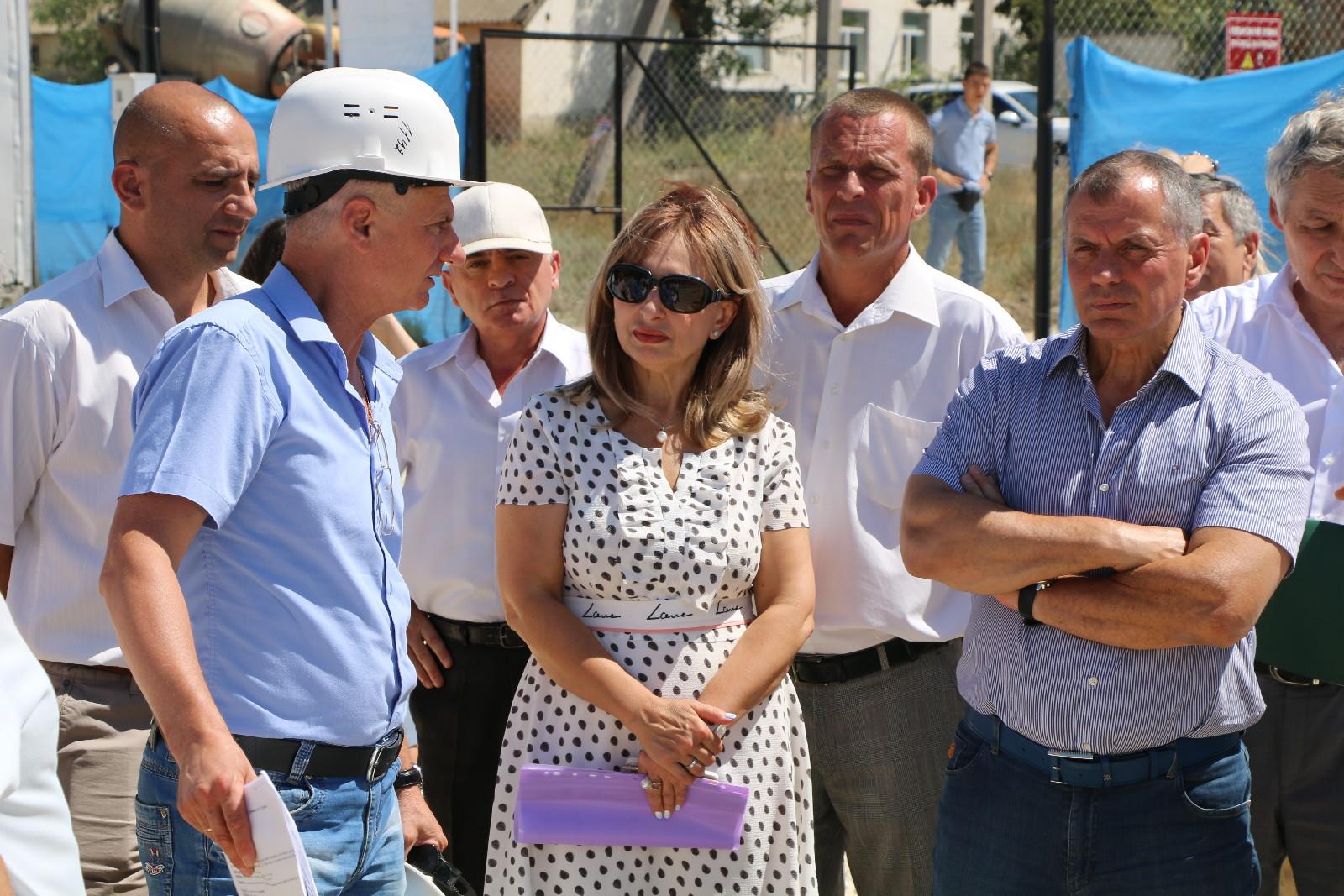 Владимир Константинов посетил Судак с рабочим визитом